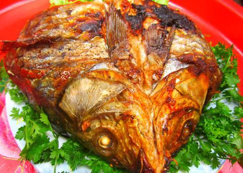 cá nướng úp chậu