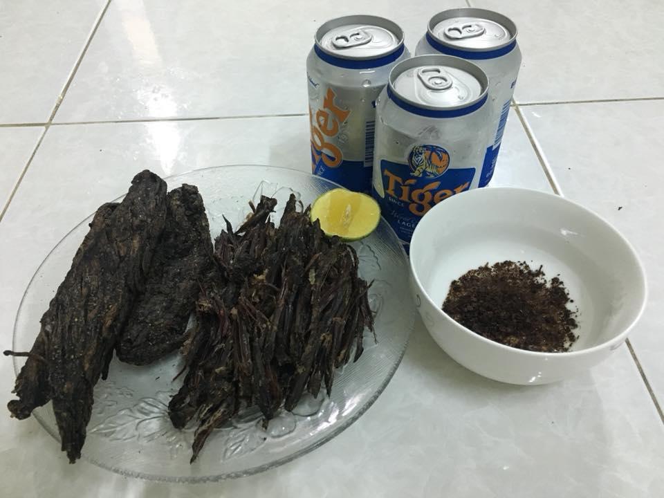 phân biệt thịt trâu gác bếp