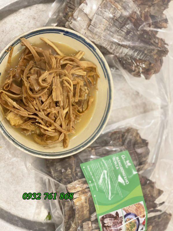măng khô rừng Sơn La nấu rất ngon