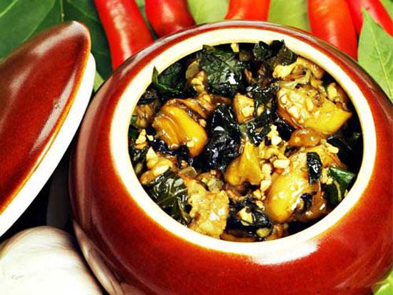 Cách nấu món ốc chuối đậu chuẩn vị Bắc