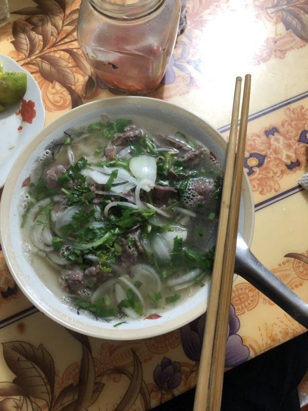 phở bò tái lăn Nam Định