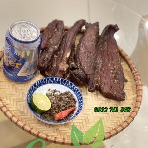 thịt lợn gác bếp Tây Bắc tại TPHCM