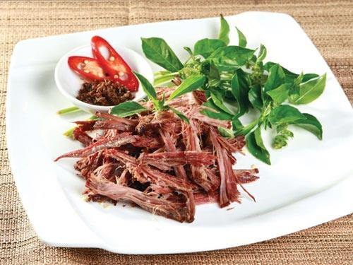 Phân loại thịt trâu gác bếp