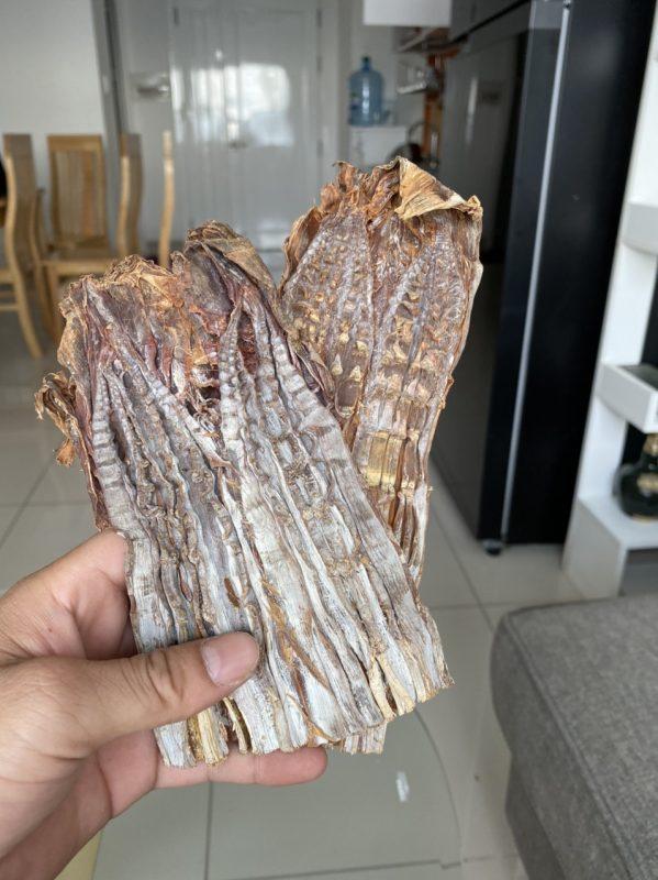 măng khô rừng Sơn La, măng lưỡi lợn