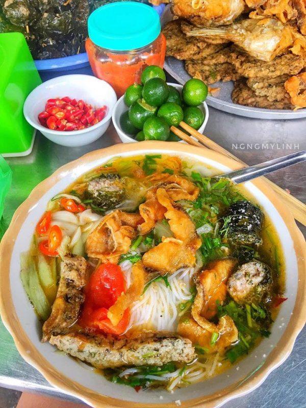 Bún cá, thứ ăn bình dân mà ngon không tưởng