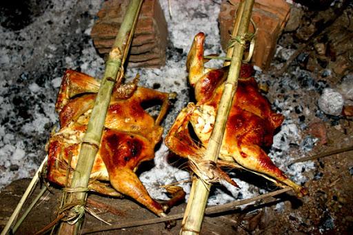 công thức làm món gà nướng hạt dổi mắc khén
