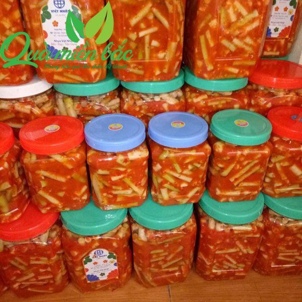Măng ớt tre gai đặc biệt hũ 1kg